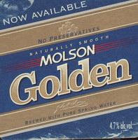 Beer coaster molson-120