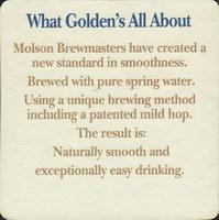 Beer coaster molson-120-zadek