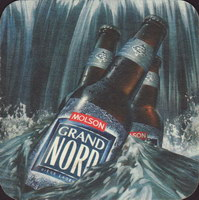 Beer coaster molson-121-oboje