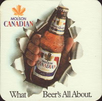 Beer coaster molson-122-oboje