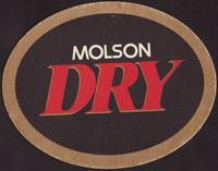 Beer coaster molson-133