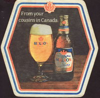 Beer coaster molson-134-small