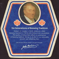 Beer coaster molson-134-zadek-small