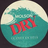 Pivní tácek molson-142-zadek