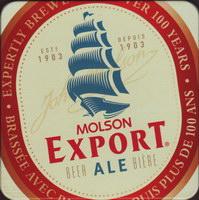 Pivní tácek molson-144