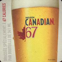 Beer coaster molson-146-small