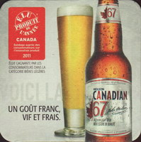 Beer coaster molson-146-zadek-small