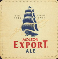 Pivní tácek molson-148