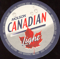 Beer coaster molson-15