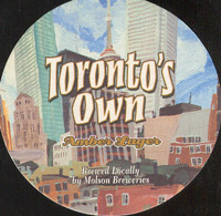 Beer coaster molson-16