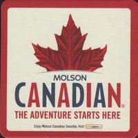 Beer coaster molson-171-small