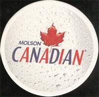 Beer coaster molson-19-oboje