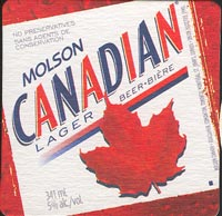 Beer coaster molson-2