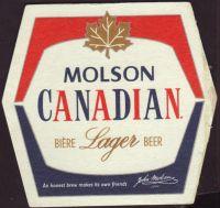 Beer coaster molson-210-small