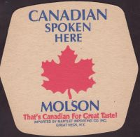 Pivní tácek molson-213-oboje-small