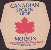 Beer coaster molson-213-oboje-small