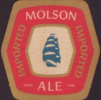 Beer coaster molson-220-small