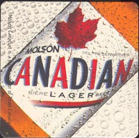 Beer coaster molson-4