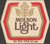 Beer coaster molson-50-small