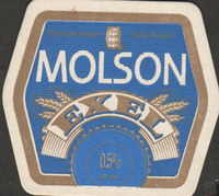 Beer coaster molson-51-small