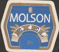 Beer coaster molson-51