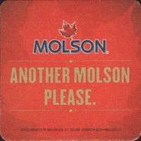 Beer coaster molson-69