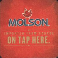 Beer coaster molson-69-zadek