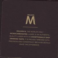 Pivní tácek molson-71-zadek