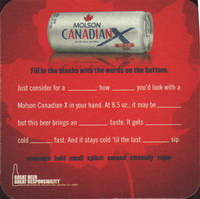 Beer coaster molson-73-zadek-small
