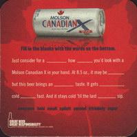 Beer coaster molson-75