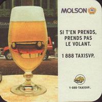 Beer coaster molson-77-small