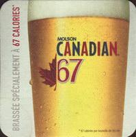 Beer coaster molson-78-zadek