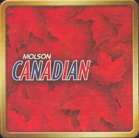 Beer coaster molson-8