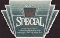 Beer coaster molson-85
