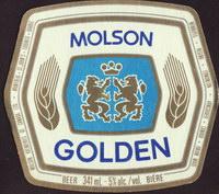 Beer coaster molson-93