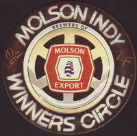Beer coaster molson-95