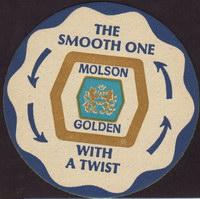 Beer coaster molson-96