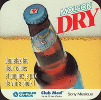 Beer coaster molson-99-oboje