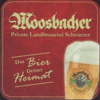 Beer coaster moosbacher-privat-landbrauerei-3-zadek