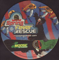 Beer coaster moosehead-18-zadek