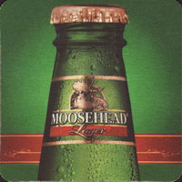Beer coaster moosehead-23