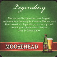 Beer coaster moosehead-23-zadek