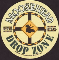 Beer coaster moosehead-25