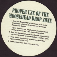 Beer coaster moosehead-25-zadek