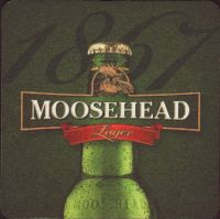 Beer coaster moosehead-37