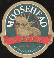 Beer coaster moosehead-4