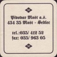 Pivní tácek most-17-zadek-small