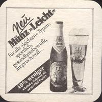 Beer coaster munz-brauerei-bundschuh-1-zadek