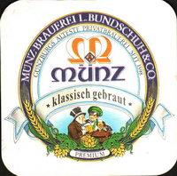 Beer coaster munz-brauerei-bundschuh-2-small