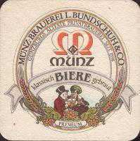 Beer coaster munz-brauerei-bundschuh-3-small